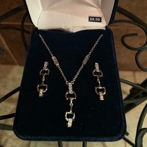 Jewelry - Montana Silversmiths necklace and earrings set